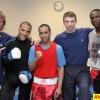 Майкл Козловский и боксёры сборной США в Москве