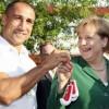 Артур Абрахам встретился с Ангелой Меркель