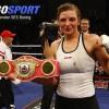 Кристина Хаммер сохранила свои чемпионские пояса