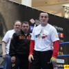 Открытая тренировка Дениса Лебедева и его тренера Кости Цзю