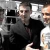 Андрей Климов и Роман Андреев в интервью на Красной площади