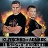 Подготовка Виталия Кличко к бою с Адамеком