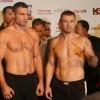 Виталий Кличко и Томаш Адамек сделали вес