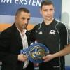 Александр Алексеев стал чемпионом Европы в тяжелом весе (видео)