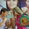 Мариана Хуарес и Анастасия Токтаулова сделали вес (видео)