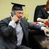 Костя Цзю получил высшее образование