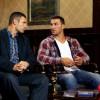 Братья Кличко представили в Москве фильм о Кличко