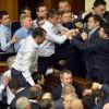 Виталий Кличко не стал участвовать в боях в украинской Раде (видео)