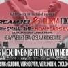 Сергей Харитонов выступит 31 декабря на турнире ММА DREAM 18/Glory 4 в Токио (видео)