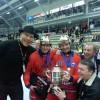 Николай Валуев помог сборной России выиграть чемпионат мира по хоккею с мячом!