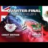 WSB: Сборная Великобритании – Сборная Мексики (видео)