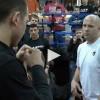 Федор Емельяненко учил правильно боксировать и бороться (видео)
