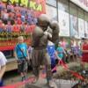 В Ижевске открыли первый в России памятник юному боксеру