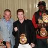 Гильермо Джонс и Сауль Альварес получили пояса чемпионов Мира WBA