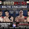 """ProFC: """"Балтийский вызов"""". Прямая трансляция (видео)"""