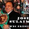 Хосе Сулейман стал пожизненным президентом WBC