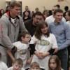 Поветкин, Бахтин и Александров вручили подарки от WBO детям (видео)
