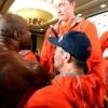 Шеннон Бриггс устроил дебош на пресс-конференции Кличко (видео)