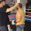 Боксерский спарринг: Мурад Халидов – Руслан Семенов