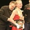 Алина Шатерникова жертвует чемпионский пояс для нужд украинской армии