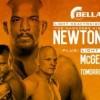 Прямая трансляция боев Bellator 124: Ньютон – Бельтран, МакГири – Анундсон