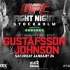 Прямая трансляция UFC: Ерохин – Пешта, Густафссон – Джонсон