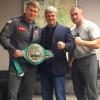 Александр Поветкин получил пояс WBC Silver
