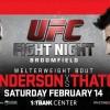 Прямая трансляция UFC: Бенсон Хендерсон против Брэндона Татча