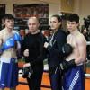 Открытая тренировка боксеров в Новороссийске