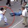 Ирландский турист отбился от 15 торговцев, избивавших его стульями и палками
