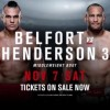 Прямая трансляция UFC Fight Night 77: Дэн Хендерсон – Витор Белфорт III