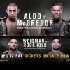 Прямая трансляция UFC 194: Aldo vs. McGregor: Жозе Алду – Конор Макгрегор