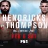 Прямая трансляция UFC Fight Night 82: Джони Хендрикс – Стивен Томпсон