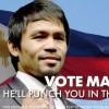 Мэнни Пакьяо завоевал место в Сенате Филиппин