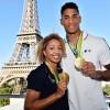 Золотая олимпийская свадьба: Тони Йока и Эстель Моссели