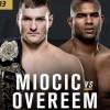 Прямая трансляция UFC 203: Алистер Оверим – Стипе Миочич, Фабрисио Вердум – Трэвис Браун