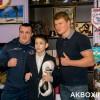 Александр Поветкин и Денис Лебедев встретились с юными боксерами в Подольске
