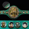 Геннадий Головкин и флаг Казахстана включены на пояс WBC