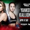 Прямая трансляция Bellator 176: Анастасия Янькова – Элина Каллиониду