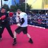Умар Саламов провел открытую тренировку в Австралии