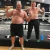 Тайсон Фьюри продемонстрировал огромный живот в спортзале Рики Хаттона