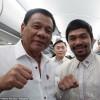 Президент Филиппин Родриго Дутерте хочет сделать Мэнни Пакьяо своим приемником