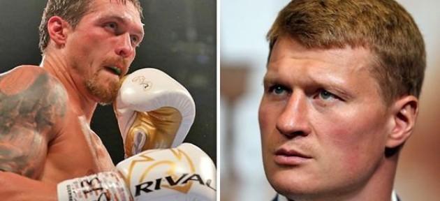 Александр Усик не будет драться с Александром Поветкиным по политическим причинам