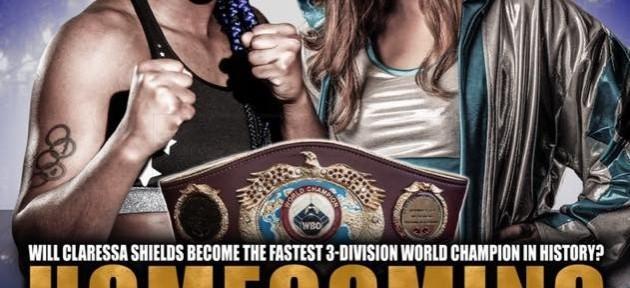 Кларисса Шилдс намерена стать чемпионской Мира в первом среднем весе