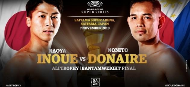 Наоя Иноуэ и Нонито Донэйр встретятся 7 ноября в Японии