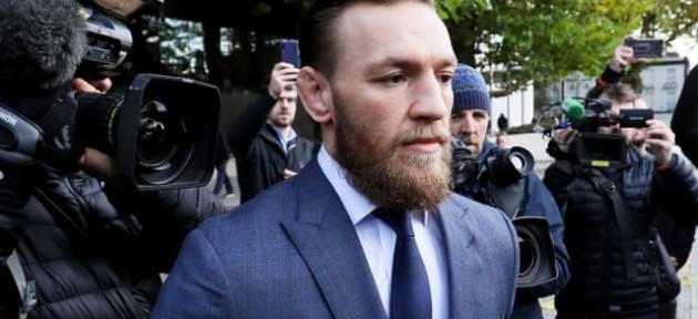 Конор МакГрегор оштрафован на сумму в 1000 евро за нападение