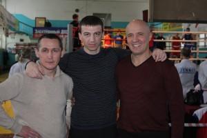 С Анатолием Александровым и Николаем Лукинским