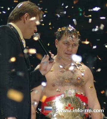 Олег Маскаев после победы