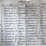 Список участников