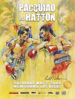 Постер боя: Хаттон - Пакьяо